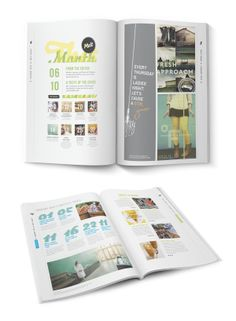 Melt Culinary Newspaper by Alex Pabian, via Behance