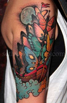 #Tattoo by Seth Wood