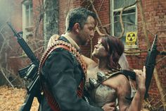 The Kansas City couple hired photographer Joshua Hoffine to shoot their photos. Here's how they turned out… | This Post-Apocalyptic Engagement Shoot Is Totally Badass