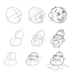 Meu Suspiro Azul Anatomy, Doodles, Cartoon, Drawings, Face, Kids, Design, Caricatures, Blue