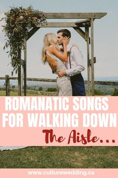 Are you looking for the best wedding ceremony songs? Here are a few processional songs. Take a look at the best wedding songs to walk down the aisle #weddingsongs