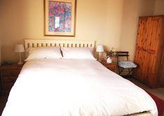 The bedroom - The Lookout, Davaar Island - info@kintyrecottages.com