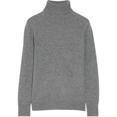 Equipment Oscar cashmere turtleneck sweater (€365) ❤ liked on Polyvore featuring tops, sweaters, equipment, sweatter, heather grey sweater, cashmere top, cashmere turtleneck sweaters, cashmere sweater and turtle neck top