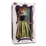 "Anna Limited Edition 17"" Collectors Designer Doll Frozen"