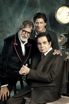 Editor Jitesh Pillaai breathes life into his experience as he shoots with the 3 living legends, Dilip Kumar, Amitabh Bachchan and Shah Rukh Khan.