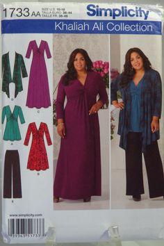 Simplicity 1733 Misses' & Plus Size Knit Sportswear