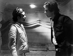 Han Solo and Princess Leia - Star Wars - The Empire Strikes Back