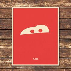 Cars - 8x10 Print. $8.00, via Etsy.