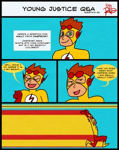 YJ Q and A- All in the Speed by AnArtistCalledRed on deviantART (OMIGOSH XD)