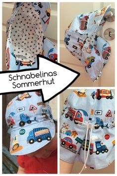 Sommerhut von Schnabelina ... mit Link zur Anleitung | made by Herzkeks