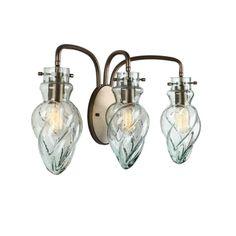 Varaluz Vintage 3-light New Bronze Vanity | Overstock.com Shopping - Top Rated Varaluz Sconces & Vanities $255.00 free shipping