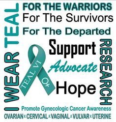 September is gynecological cancer awareness month.