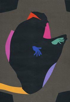 Zenji Funabashi : Illustration of an essay published in the magazine CLASSY