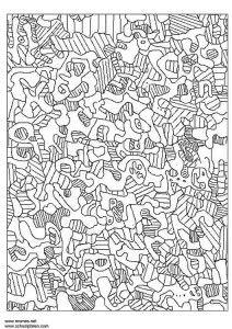 jean-dubuffet-3187 free coloring pages of master artists
