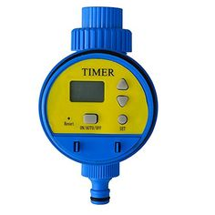 HITREE Outdoor Yard Electronic Automatic Water Timer Garden Watering Irrigation SystemSingleDial Water Timer ** Details can be found by clicking on the image.