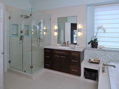 Spacious, Contemporary Bathroom Remodel | Carla Aston | HGTV