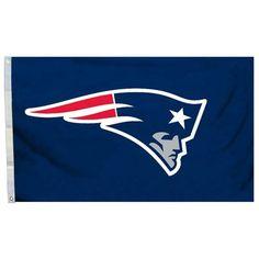 Team Pro-Mark NFL Traditional Flag Color: Navy Blue, NFL Team: New England Patriots