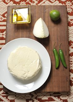Queso Panela--  My grandma used to make it this cheese from scratch.