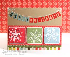 Holiday Card Series - Day 5 by starofmay, via Flickr
