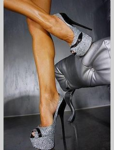 Wooow bling shoes