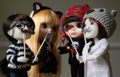 Blythe and Makie Dolls