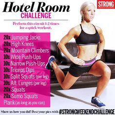 Hotel Room Weekend Challenge