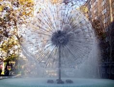 Dandelion Fountain - Kings Cross, Sydney