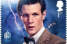 Doctor Who 50th stamp - Doctor #11