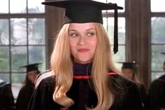 The full story behind the 'Legally Blonde' ending you didn't get to see Legally Blonde Outfits, Legally Blonde Quotes, Legally Blonde Movie, Blonde Aesthetic, Film Aesthetic, Blonde Ends, Graduation Speech, Graduation Gifts, The Royal Tenenbaums