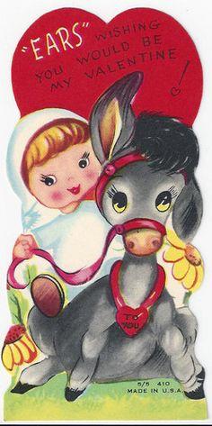 Happy Valentine's Day!  #donkey #mule