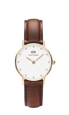 #DanielWellington 0900DW Brown Women's Classy St Mawes Watch...Price: €139.00
