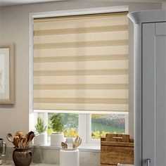 Enjoy Luxe Gold Roller Blind Kitchen Blinds, Roller Blinds, Metallic Colors, Colours, Curtains, Gold, Home Decor, Houses, Curtains For Kitchen