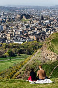 'Very rarely do you get the chance to build a stellar hill into a day on the high street, but when it comes to the city of Edinburgh, it would be a travesty not to do so. Sitting in Holyrood Park, at the end of the Royal Mile, is the distinctly shapely summit of Arthur's Seat.' Britain's Best Small Hills by Phoebe Smith www.bradtguides.com
