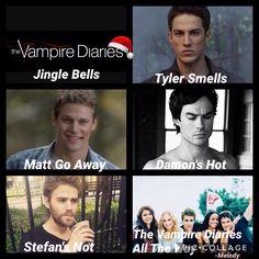 Damon's HOT , Stephan 's NOT! Lol Damon for life!