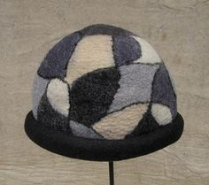 handmade felt hat - pure wool