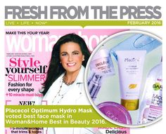Placecol Optimum Hydro Mask voted best face mask in Woman & Home Best in Beauty Best Face Mask, Live Life, Skin Care, Fresh, Shit Happens, Woman, Beauty, Skincare Routine, Skins Uk