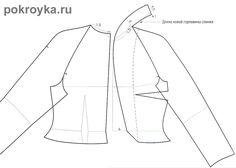 Воротник стойка   pokroyka.ru-уроки кроя и шитья Coat Patterns, Dress Patterns, Sewing Patterns, Sewing Ideas, Sewing Shirts, Sewing Clothes, Tailored Fashion, Diy Couture, Sewing Lessons