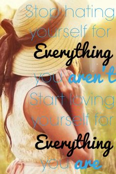 Be you :)