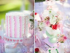 One of my favorite things about throwing parties is how you two people can take the same party theme and Pink Treats, Strawberry Shortcake Birthday, Throw A Party, Birthday Parties, Birthday Ideas, Party Themes, Party Ideas, Holiday Traditions, Sweet Cakes