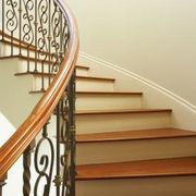 How to Install Glueless Laminate Wood Flooring on the Stairs | eHow
