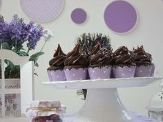Lavander purple and white | CatchMyParty.com