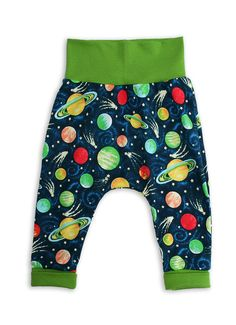 Shooting Stars in Space Baby Trousers