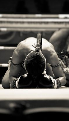 ♂ World martial art black and white thai kickboxing by c hamr
