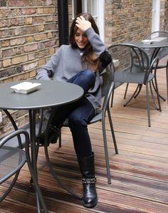 Sandra Bauknecht Haymarket http://www.sandrascloset.com/my-look-grey-sweater/