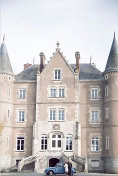 Angel Adoree and Dick Strawbridge open Chateau-de-la Motte Husson for Vintage Weddings and Unique Celebrations. Angel Adoree, Angel Strawbridge, Scotland Castles, French Chateau, The Chateau, Fairytale Castle, Grand Homes, France, French Country Style