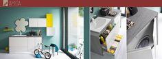 Quanti di noi vorrebbero un pò più di ordine in bagno, e nascondere panni sporchi e detersivi? Ecco le nostre soluzioni bagno-lavanderia!