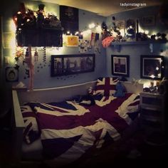 decoracao de quarto feminino vintage tumblr - Pesquisa Google