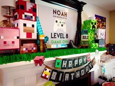 Video games Birthday Party Ideas |