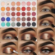 If you would like enhance your eyes and also increase your natural beauty, having the best eye make-up techniques can help. You need to make sure you put on make-up that makes you look even more beautiful than you already are. Glam Makeup, Skin Makeup, Makeup Inspo, Makeup Brushes, Beauty Makeup, Huda Beauty, Purple Makeup, Sultry Makeup, Matte Eye Makeup