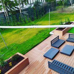 Terasz burkolat Outdoor Furniture Sets, Outdoor Decor, Deck, Home Decor, Decks, Home Interior Design, Decoration Home, Home Decoration